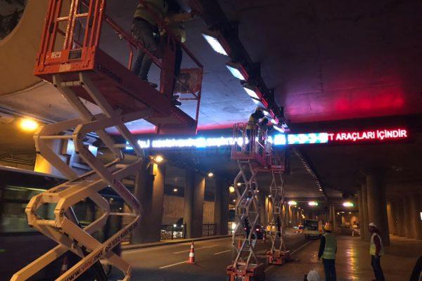 Taksim tünel 1 makaslı platform