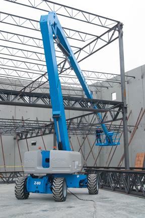 Dizel eklemli platform çelik konstrüksiyon işinde