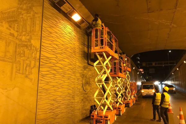 Taksim tünel 2 makaslı platform